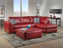 Fantastic red leather sofa designs ideas for family rooms (17)