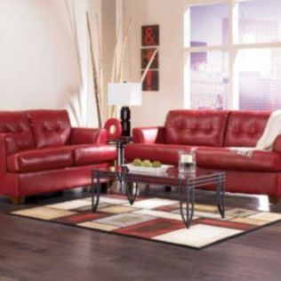 Fantastic red leather sofa designs ideas for family rooms (22)