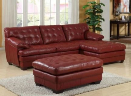 Fantastic red leather sofa designs ideas for family rooms (36)