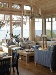 Gorgeous coastal living room decor ideas (12)