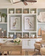 Gorgeous coastal living room decor ideas (15)
