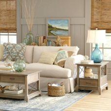 Gorgeous coastal living room decor ideas (28)