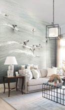 Gorgeous coastal living room decor ideas (32)