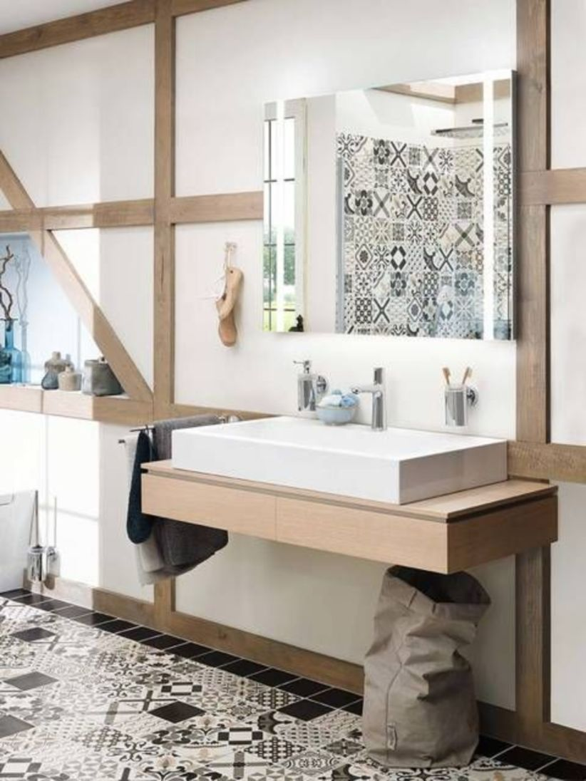 Inspiring scandinavian bathroom design ideas (15)