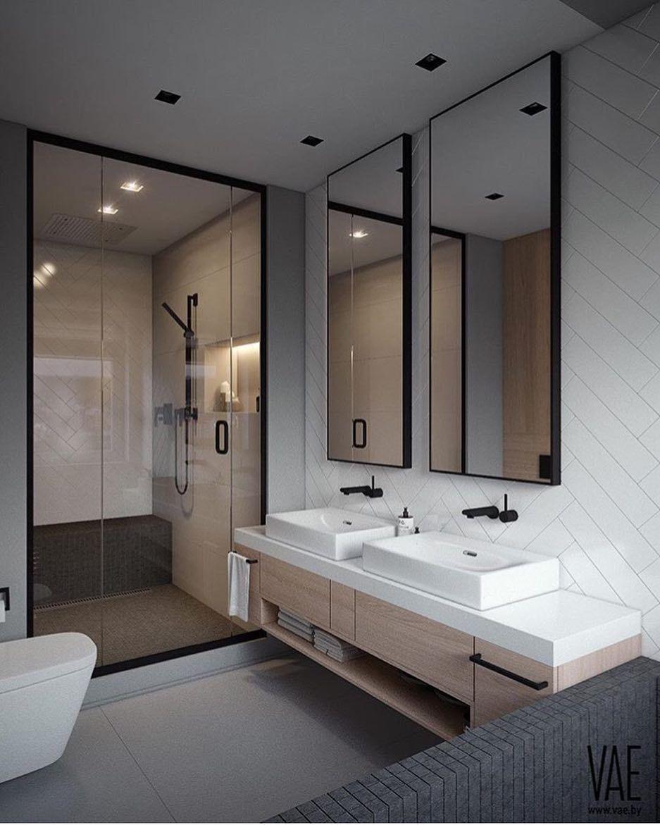 Inspiring scandinavian bathroom design ideas (30)