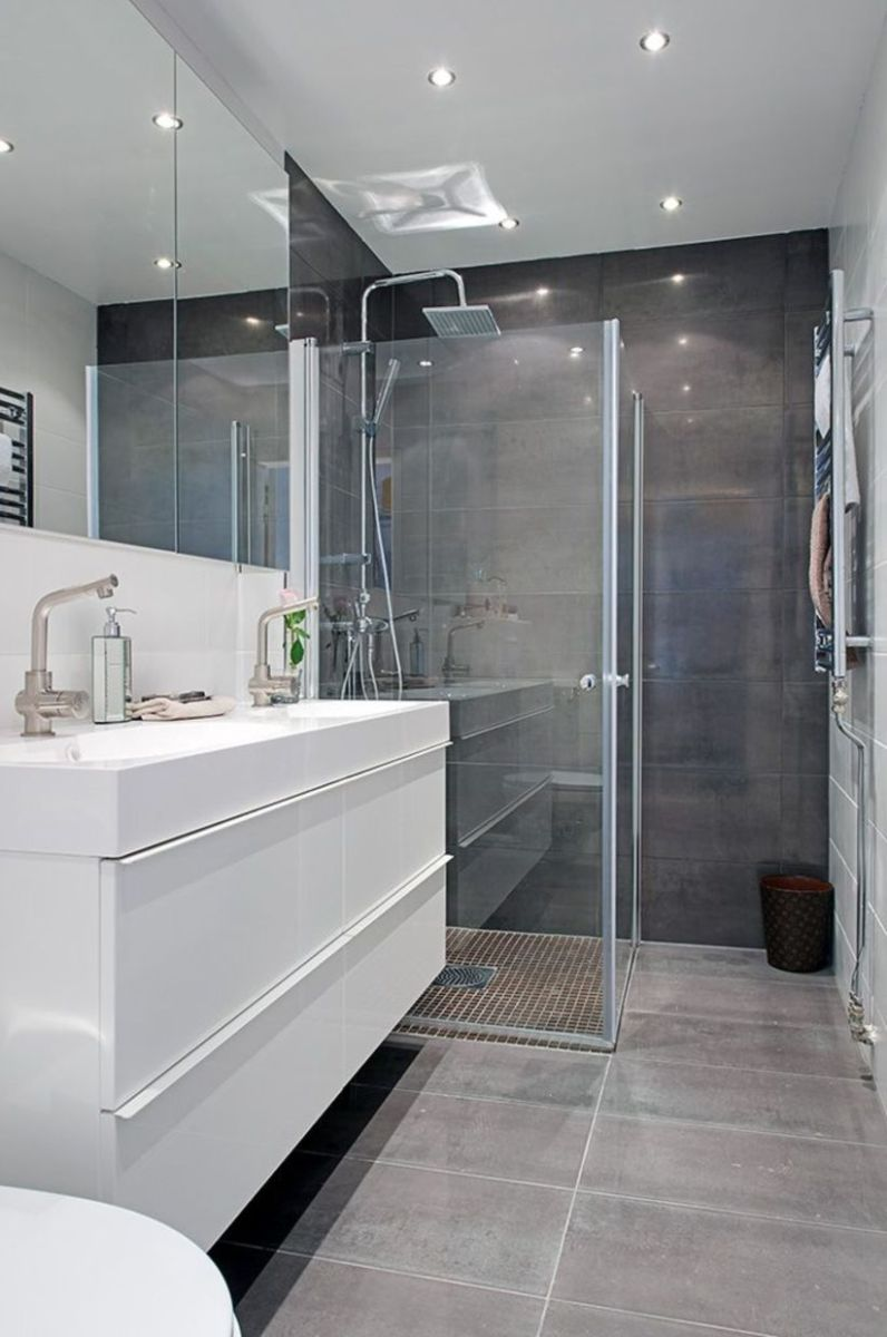 Inspiring scandinavian bathroom design ideas (31)