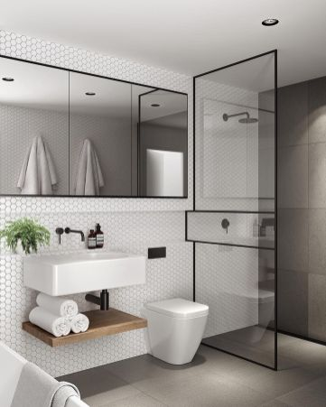 Inspiring scandinavian bathroom design ideas (44)