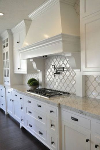 Modern white kitchen design ideas (10)