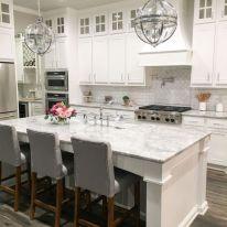 Modern white kitchen design ideas (14)