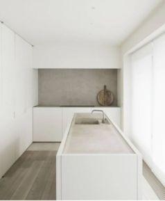Modern white kitchen design ideas (22)