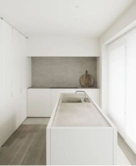 Modern white kitchen design ideas (22)