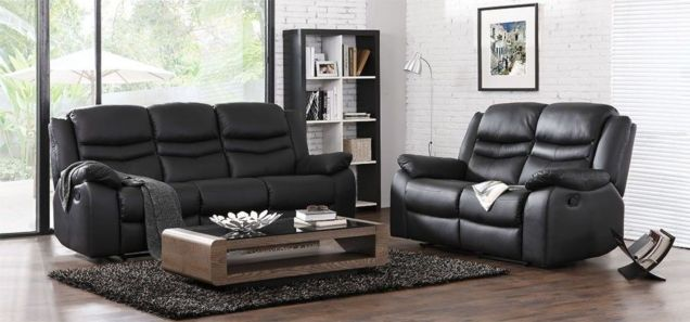 Stunning modern leather sofa design for living room (11)