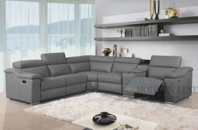 Stunning modern leather sofa design for living room (17)