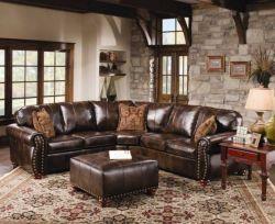 Stunning modern leather sofa design for living room (18)