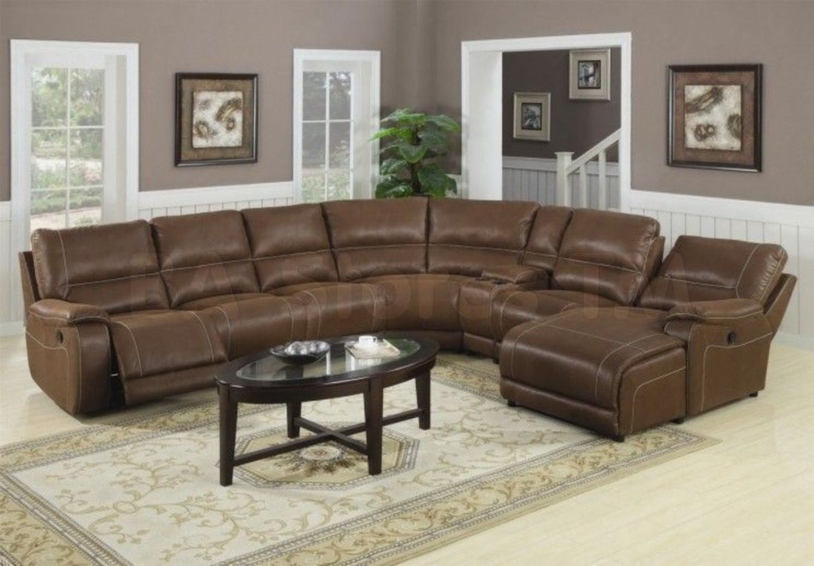 Stunning modern leather sofa design for living room (19)