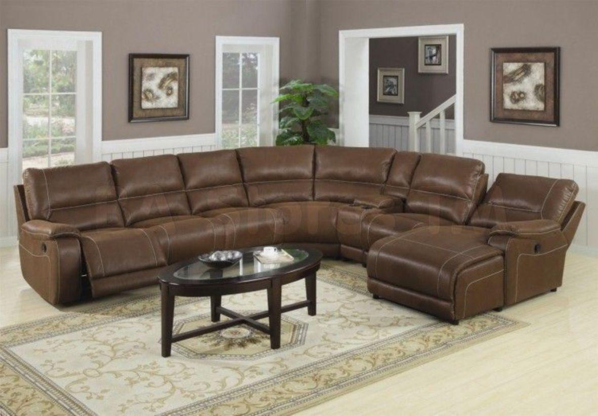 Stunning modern leather sofa design for living room (19)
