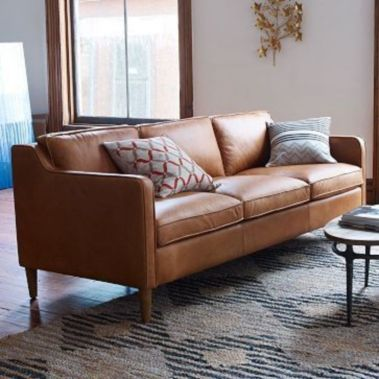 Stunning modern leather sofa design for living room (5)