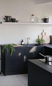 Stylish luxury black kitchen design ideas (2)