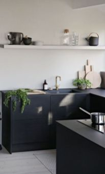 Stylish luxury black kitchen design ideas (2)