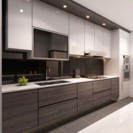 Totally inspiring modern kitchen cabinet design decor ideas (21)