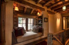 Amazing rustic mountain farmhouse decorating ideas (33)