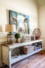 Amazing rustic mountain farmhouse decorating ideas (36)