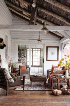 Amazing rustic mountain farmhouse decorating ideas (7)