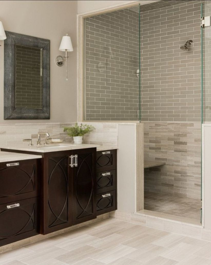 Awesome bathroom tile shower design ideas (13)