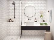 Awesome bathroom tile shower design ideas (19)