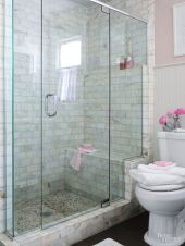 Awesome bathroom tile shower design ideas (2)
