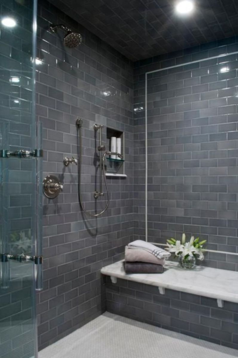 Awesome bathroom tile shower design ideas (26)