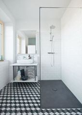 Awesome bathroom tile shower design ideas (30)