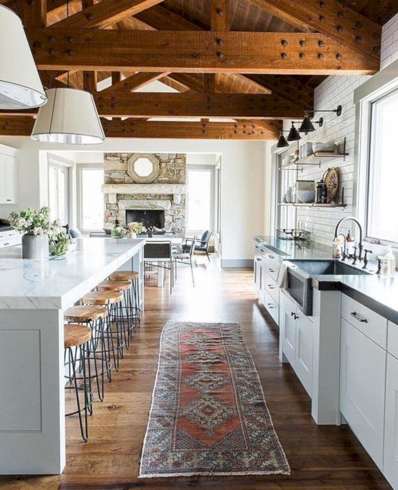 Beautiful rustic kitchen cabinet ideas (15)