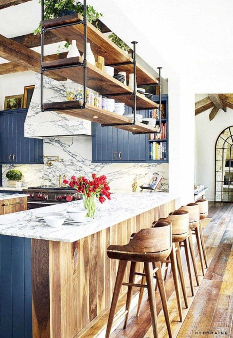 Beautiful rustic kitchen cabinet ideas (38)