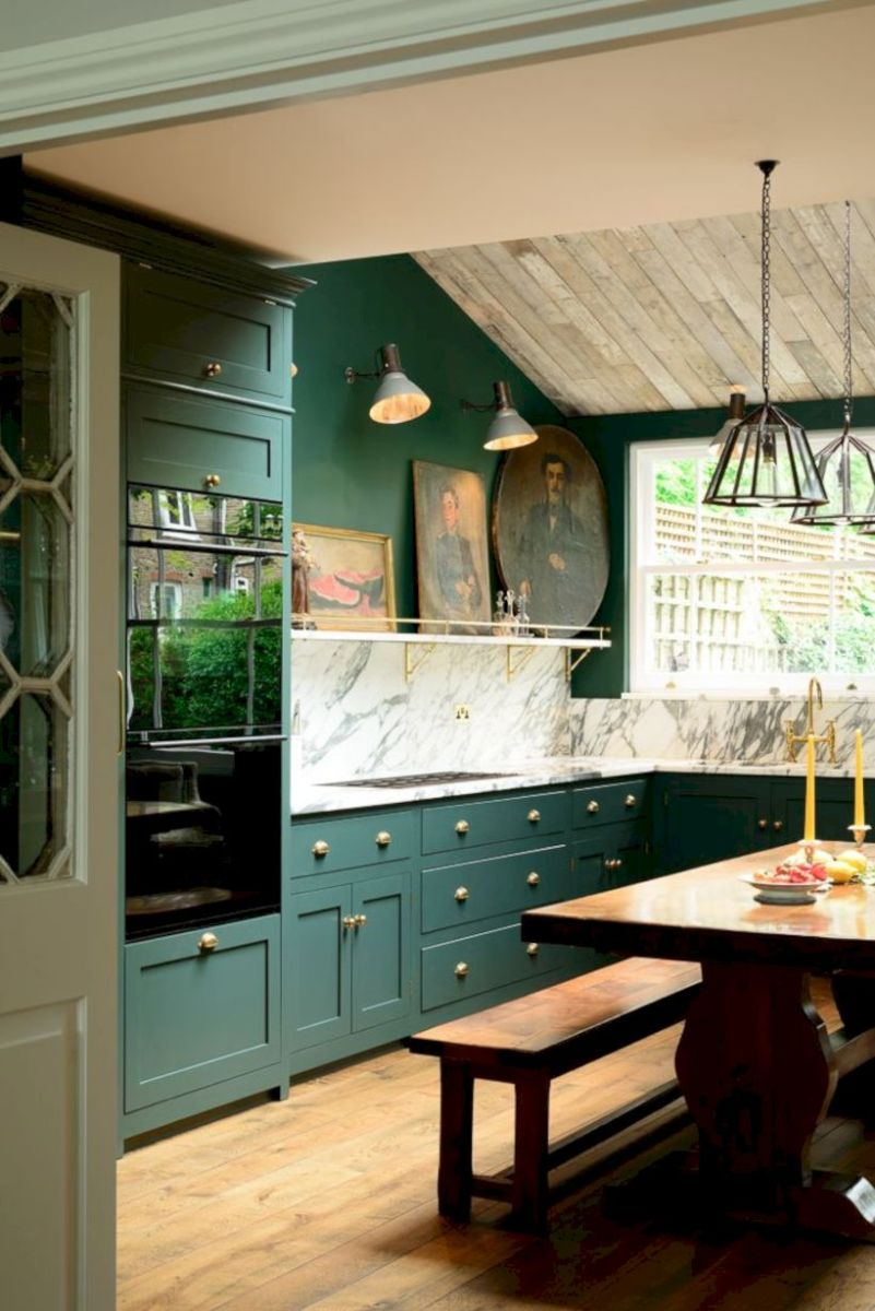 Beautiful rustic kitchen cabinet ideas (39)