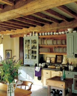 Beautiful rustic kitchen cabinet ideas (40)