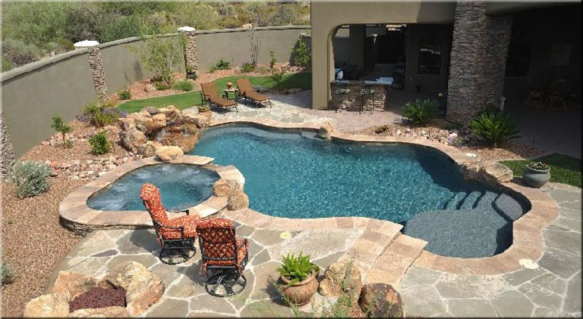 Beautiful small outdoor inground pools design ideas 01