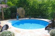 Beautiful small outdoor inground pools design ideas 17