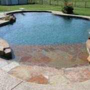Beautiful small outdoor inground pools design ideas 21