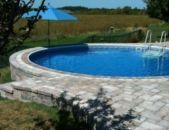 Beautiful small outdoor inground pools design ideas 23