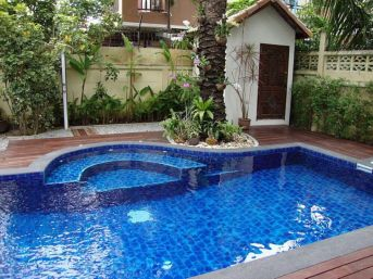 Beautiful small outdoor inground pools design ideas 26