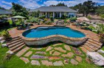 Beautiful small outdoor inground pools design ideas 31