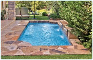 Beautiful small outdoor inground pools design ideas 37