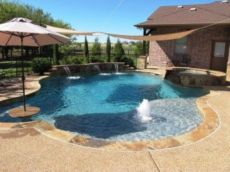 Beautiful small outdoor inground pools design ideas 40