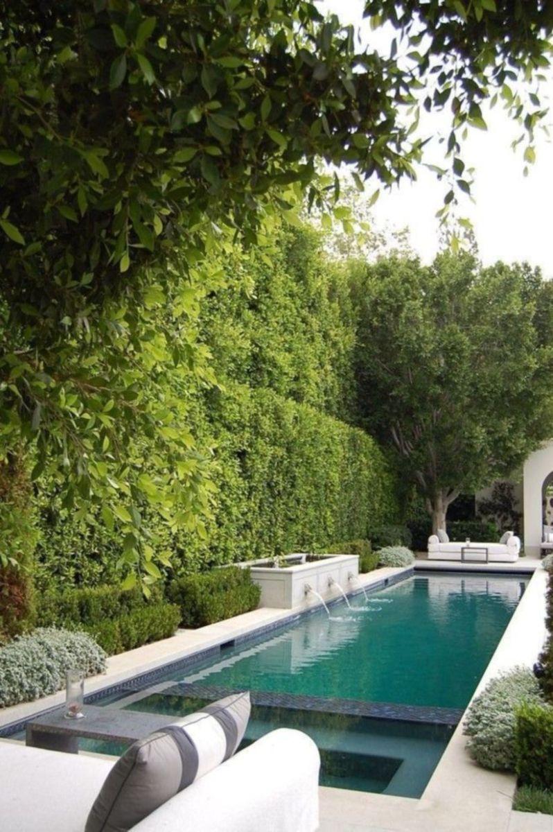 Beautiful small outdoor inground pools design ideas 42
