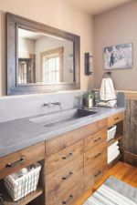 Beautiful urban farmhouse master bathroom remodel ideas (33)