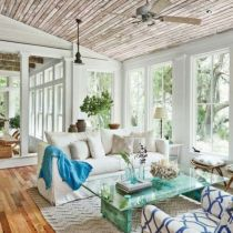 Best rustic coastal decorating ideas for simple home decor 11