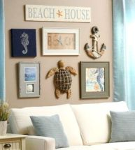 Best rustic coastal decorating ideas for simple home decor 17
