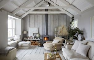 Best rustic coastal decorating ideas for simple home decor 23