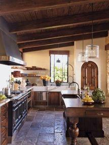 Contemporary italian rustic home décor ideas 11